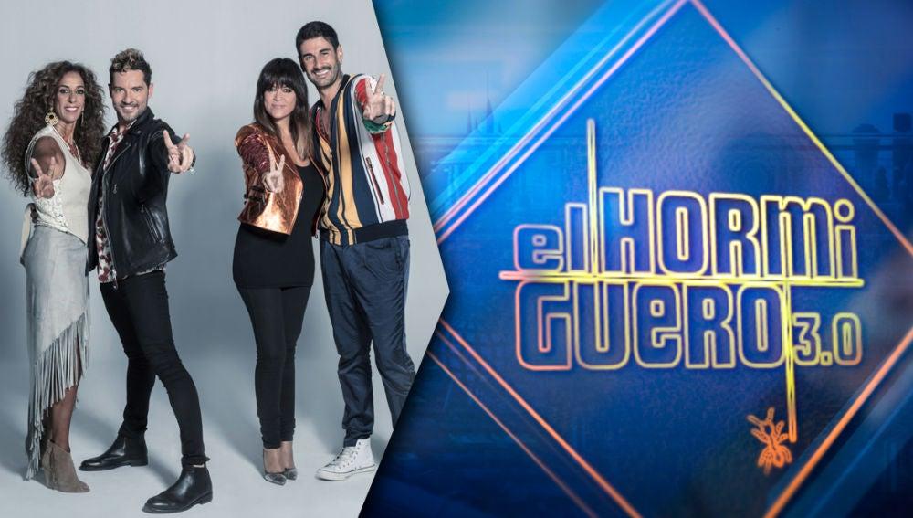 El miércoles llena tu semana de ritmo con la visita de los coaches de 'La Voz Kids' a 'El Hormiguero 3.0'