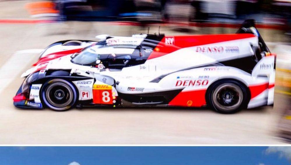 La foto compartida por Fernando Alonso en redes