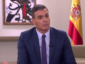 """Pedro Sánchez recalca que si hubiera aceptado un Gobierno con Podemos """"no dormiría por las noches"""""""