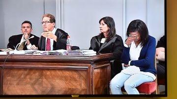 Ana Julia Quezada durante el juicio por el caso Gabriel Cruz