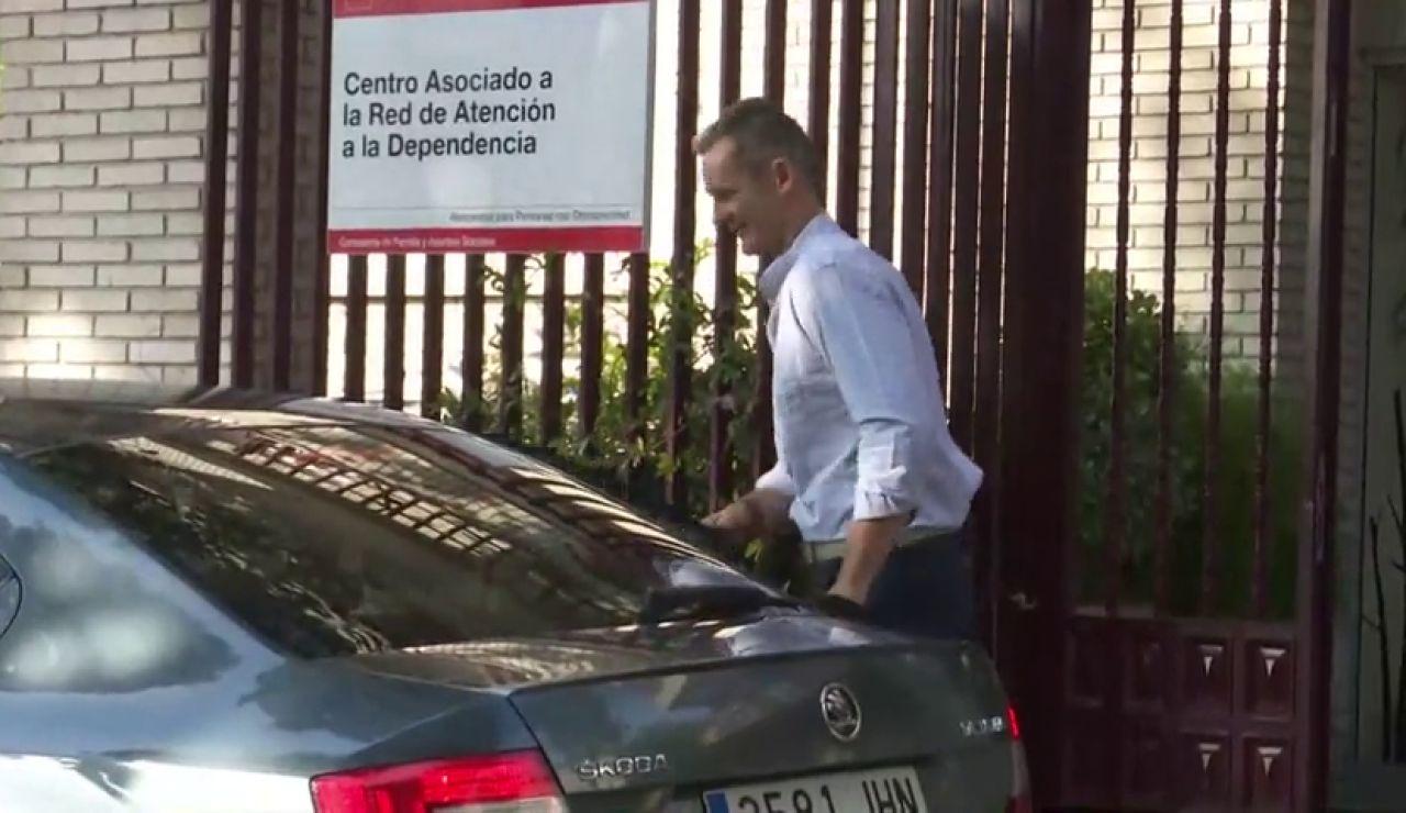 Iñaki Urdangarin sale de la cárcel de Brieva por primera vez para hacer voluntariado