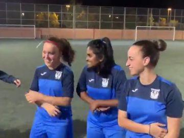 La espectacular reacción del Leganés femenino al enterarse de que jugará el Trofeo Villa Leganés