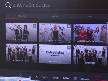 antena3.com, la web de televisión más vista con 11 millones de visitantes únicos