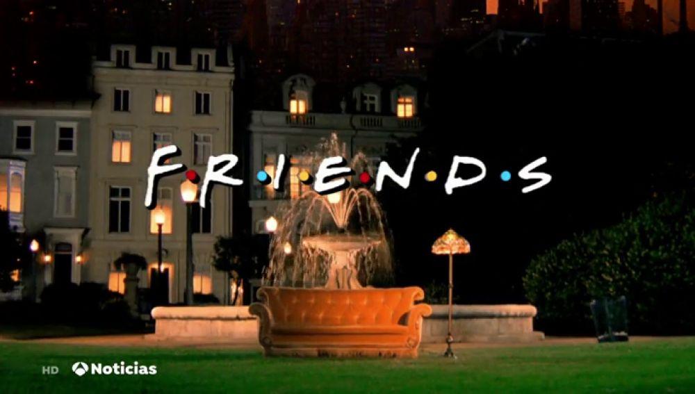 Friends cumple 25 años