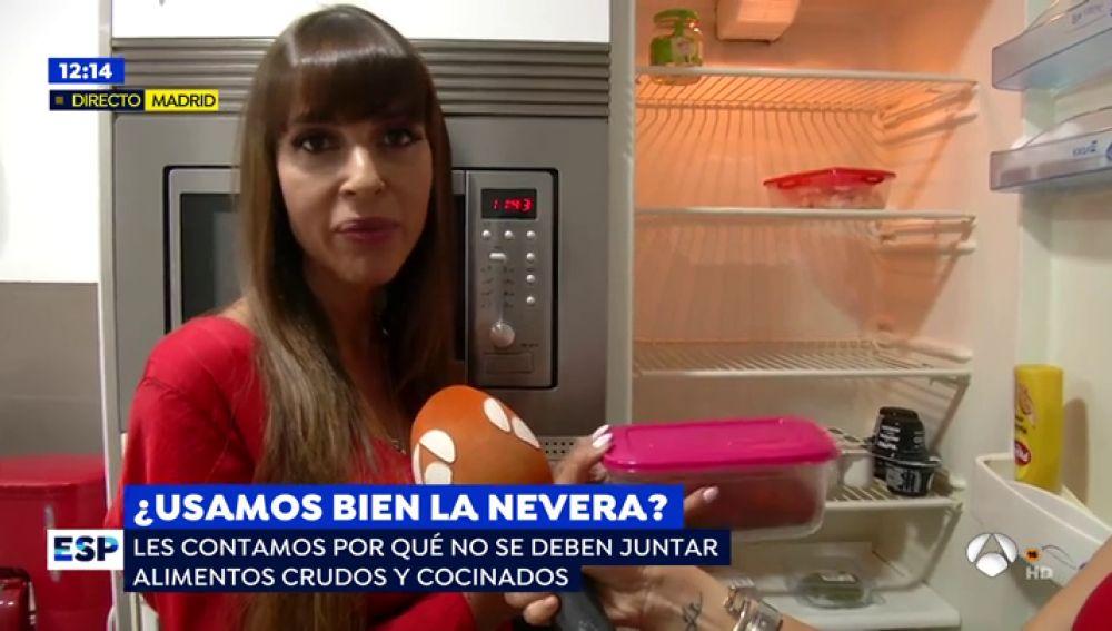 Nutricionista Verónica Chazín.