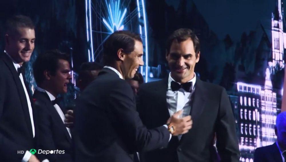 Nadal y Federer hacen gala de su confianza en la inauguración de la Laver Cup