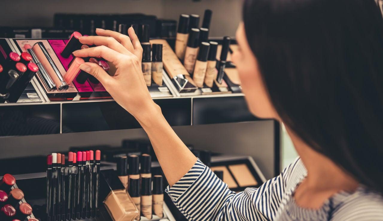 Compra de cosméticos