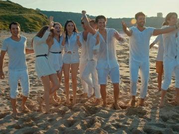 Final en la playa