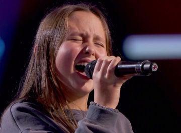 La angelical voz de una talent enamorará a Vanesa Martín sobre el escenario 'La Voz Kids'