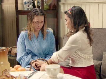 """""""Mírame a los ojos y dime la verdad"""", la difícil conversación entre Amelia y Luisita que decidirá su futuro"""