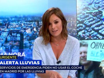 """Emergencias Madrid recomienda no usar el coche en la capital por lluvias """"muy intensas"""""""