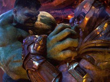 Hulk contra Thanos 'Infinity War'