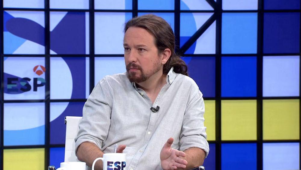 """REEMPLAZO Pablo Iglesias, a Sánchez: """"Si no duerme bien puede cambiar el colchón pero sin faltar el respeto a la gente"""""""