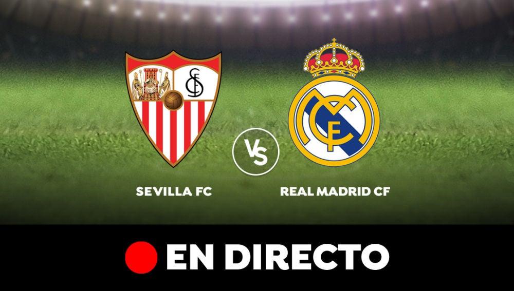 Sevilla - Real Madrid: Resultado del partido de hoy de la Liga Santander, en directo