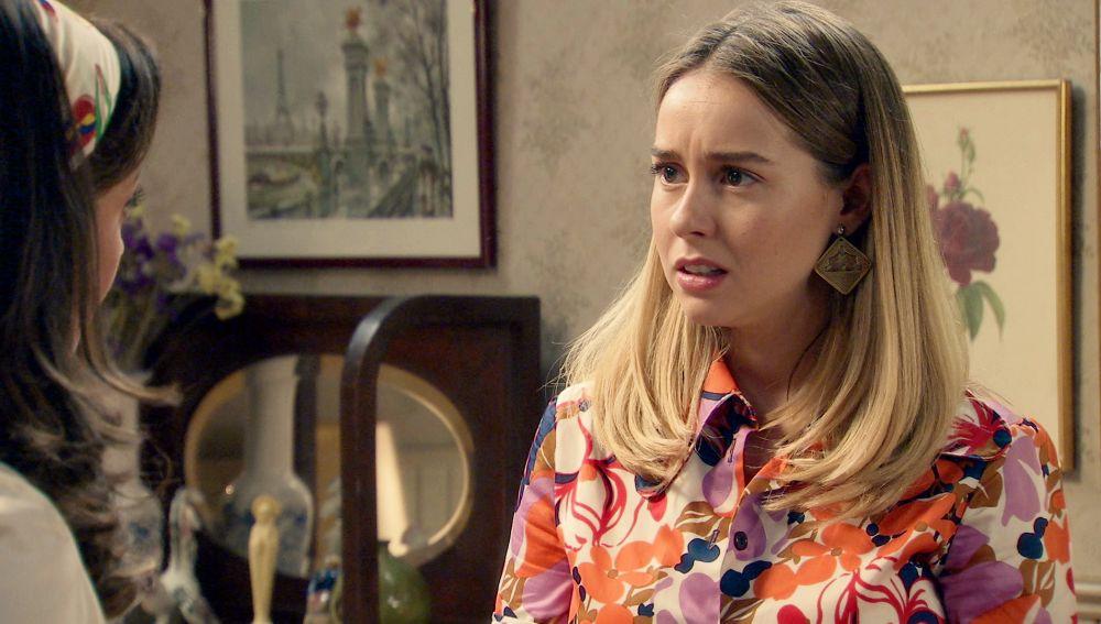 """Luisita a Amelia: """"¿Y si no me apetece volver?"""""""