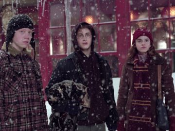 Harry Potter, Ron Weasley y Hermione Granger