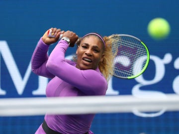 Serena Williams, durante un partido del US Open