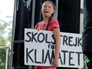 Greta Thunberg en NuevaYork