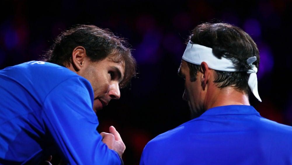 Nadal aconseja a Federer