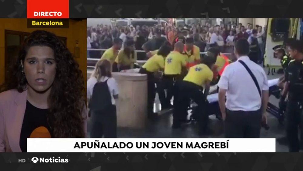 Dos detenidos por apuñalar a un menor magrebí en el metro de Barcelona