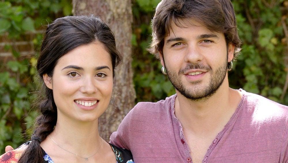 Los actores Loreto Mauleón y Jordi Coll