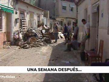 """""""La actitud de la gente es increíble"""", así se encuentran los vecinos de Orihuela (Alicante) tras el paso de la gota fría"""