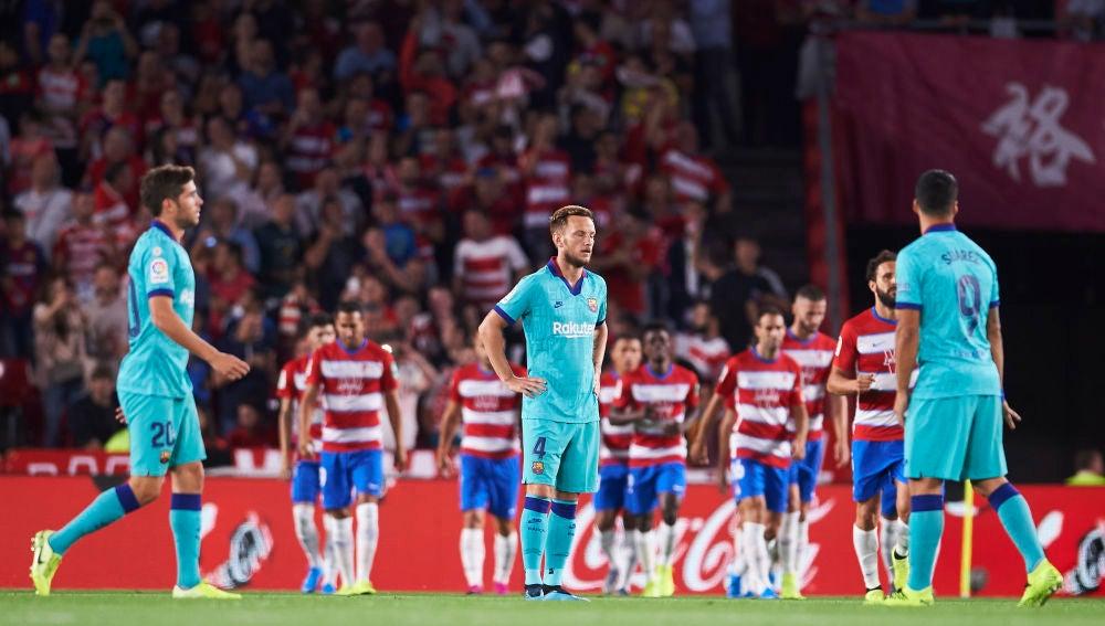 El Barcelona pierde por 2-0 en casa del Granada