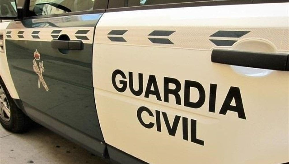 Un coche de la Guardia Civil.