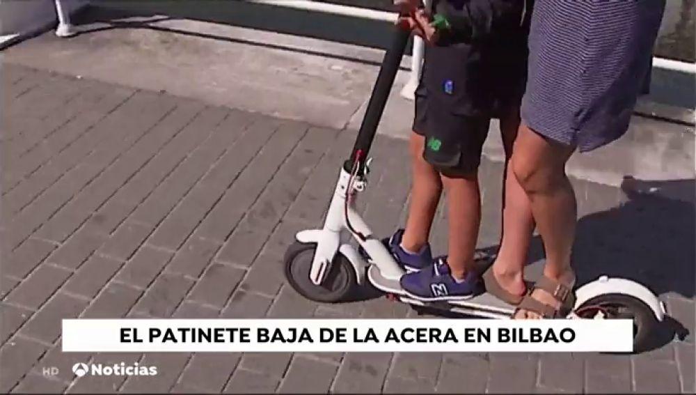 Circular en patinete eléctrico por las calles de Bilbao estará prohibido a partir de octubre