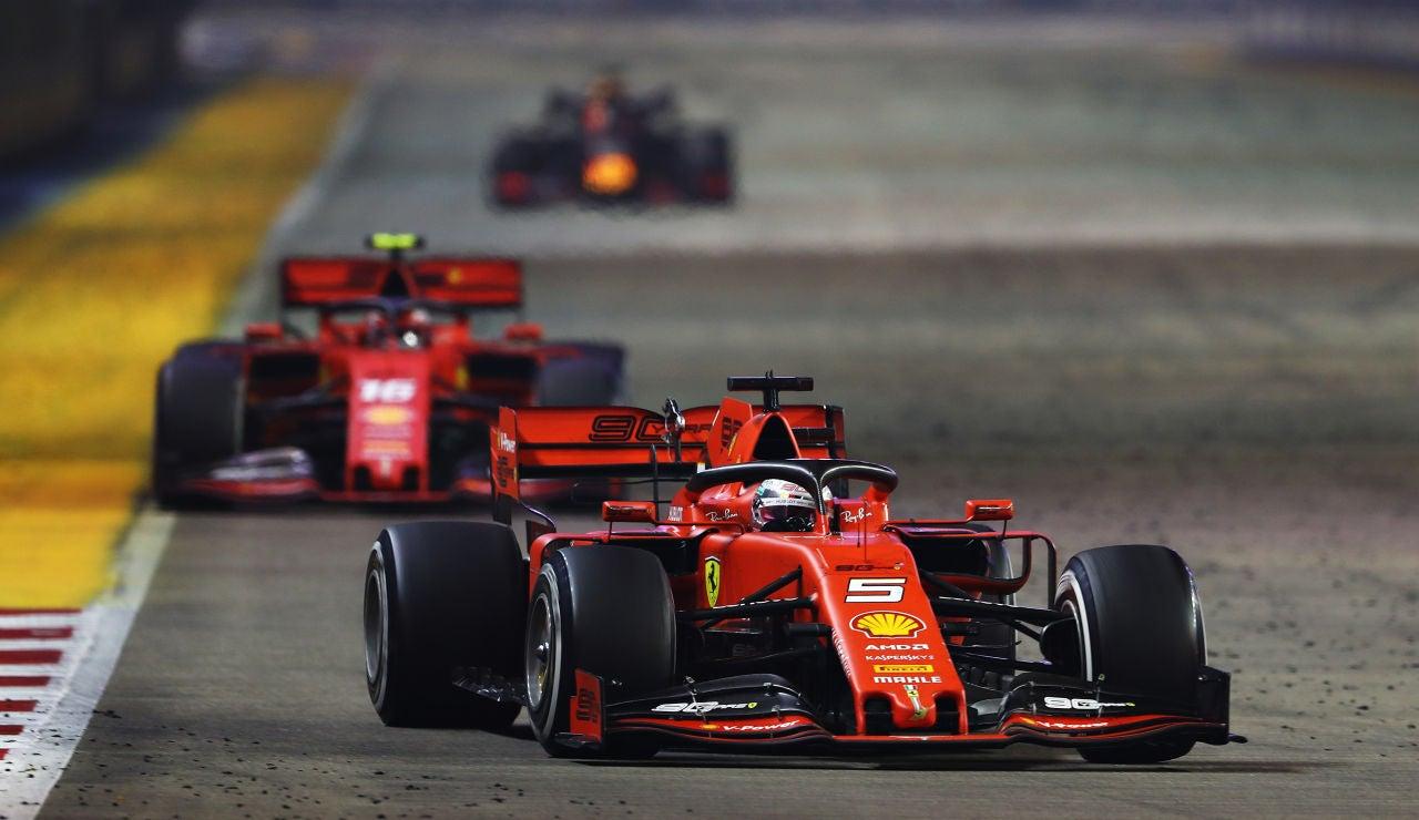Vettel gana en el GP de Singapur