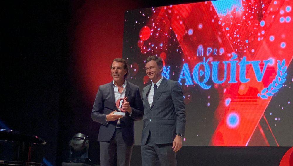 Antena 3 recoge tres Premios Nacionales AQUÍ TV