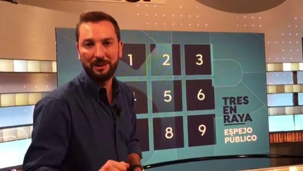 'Espejo Público' recupera los concursos de toda la vida con 'Tres en raya'