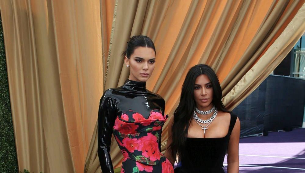 Kendall Jenner y Kim Kardashian