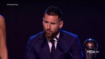 Leo Messi, premio The Best a mejor jugador de la FIFA 2019