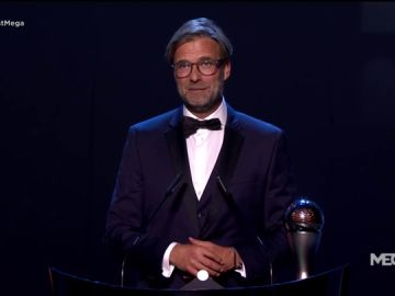 Klopp se lleva el premio a mejor entrenador en la gala FIFA The Best 2019