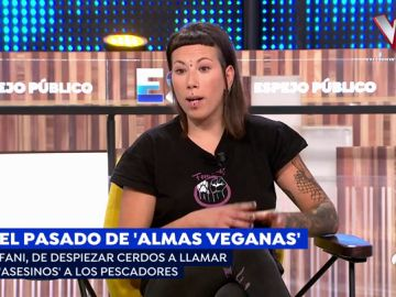 Fanny, de 'Almas veganas'.