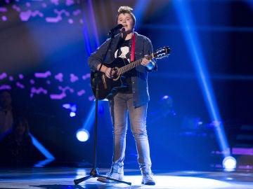 Aiert Alberdi canta 'Como hablar' en las Audiciones a ciegas de 'La Voz Kids'