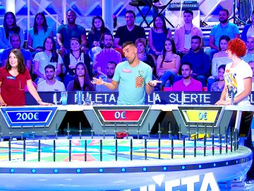 Un concursante, víctima de su propia estrategia en 'La ruleta de la suerte'
