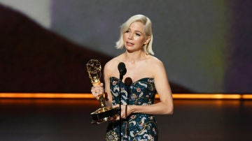 Michelle Williams durante el discurso