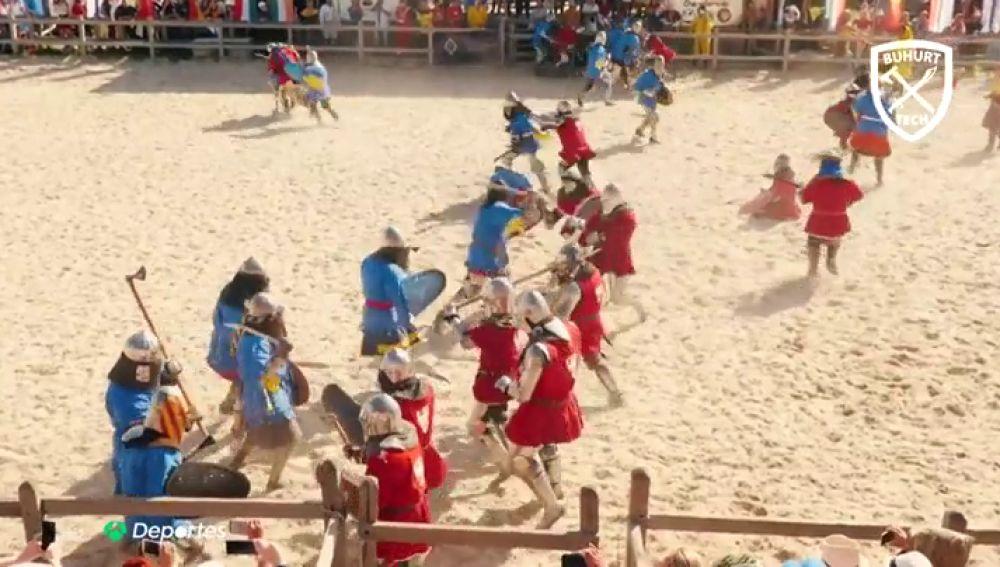 Un 'Juego de Tronos' muy real: así hemos vivido el torneo nacional de combate medieval en Cuenca