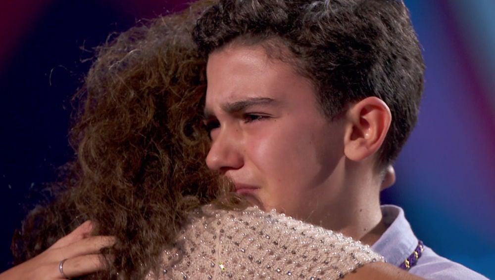 Las lágrimas de inmensa emoción de Hugo Sánchez al hablar de Jesús Nazareno