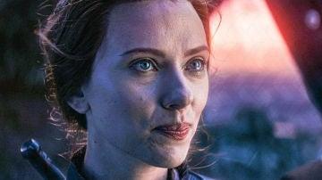 Scarlett Johansson como Viuda Negra en 'Vengadores: Endgame'