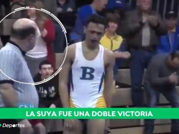 Suspendido un árbitro por obligar a un luchador de lucha grecorromana a cortarse las rastas para competir