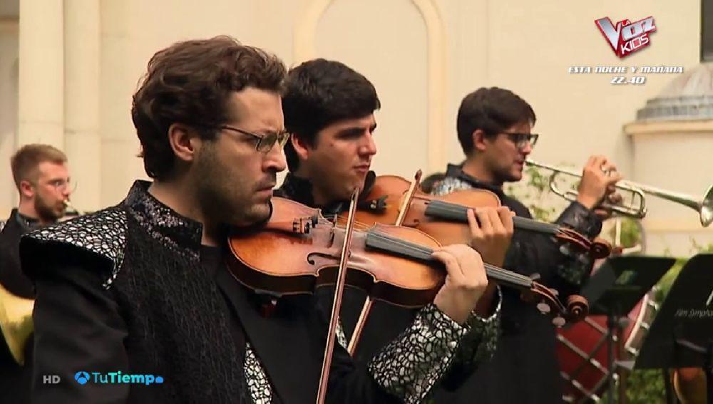 ¿Cómo suenan los truenos o la lluvia interpretados por una orquesta sinfónica?