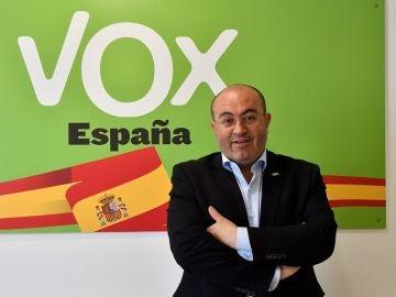 El coordinador local de Vox en El Ejido, Almería