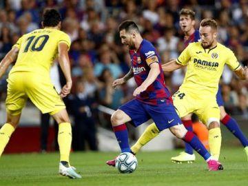 Triunfo del Barcelona ante el Villarreal