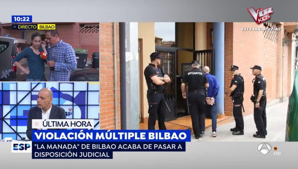 Violación en Bilbao.