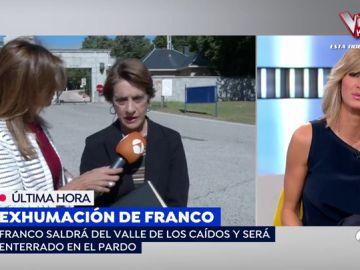 Mujer más franquista de España.