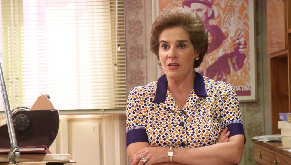 Anabel Alonso desvela qué recuerda sobre 1976, el año en el que se ambienta la nueva temporada de 'Amar es para siempre'