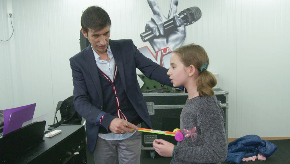 Un martillo, la clave para activar el diafragma de los niños de 'La Voz Kids'